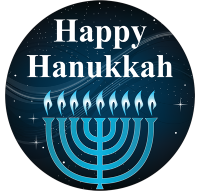 Happy Hanukkah DECO-SIGN - Decorative Post Signs - Store