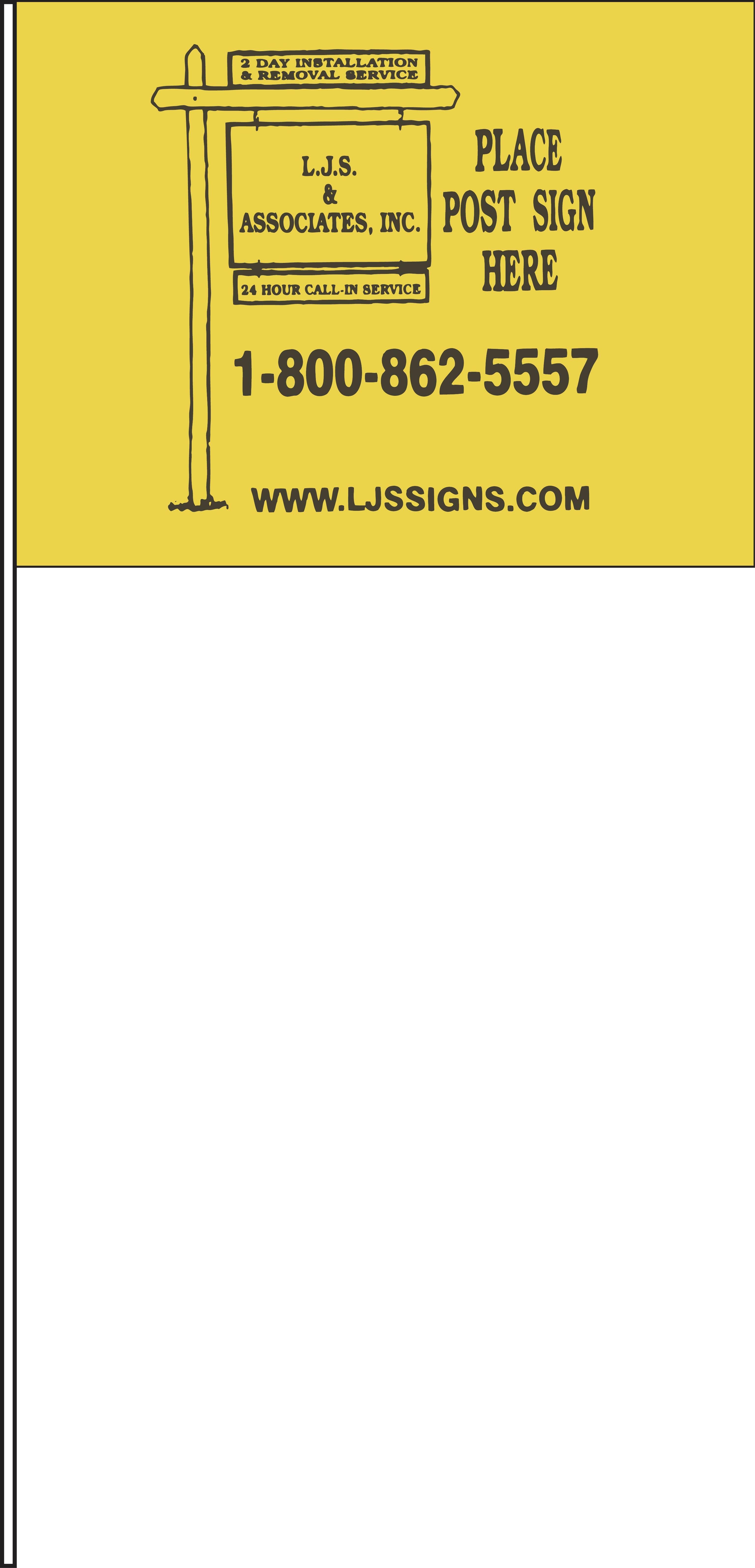 LJS Marker Flag