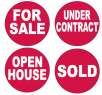 Realtor 4 Pack DECO-SIGNS